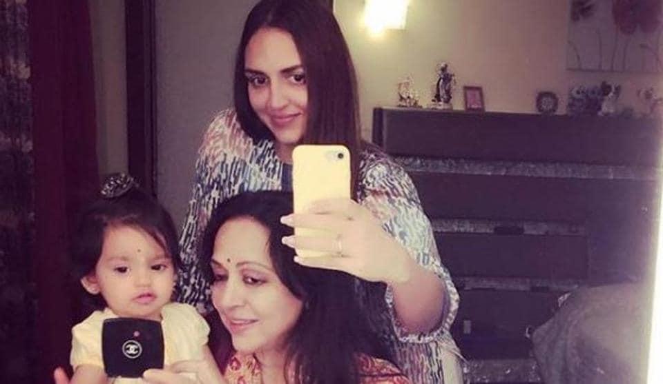 Hema Malini,Esha Deol,Hema Malini daughters