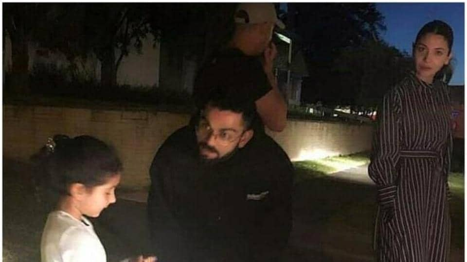 Anushka Sharma is accompanying husband Virat Kohli in New Zealand.
