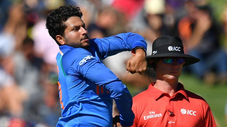 India vs New Zealand: Kuldeep Yadav makes Chahal TV debut after sparkling performance - Watch
