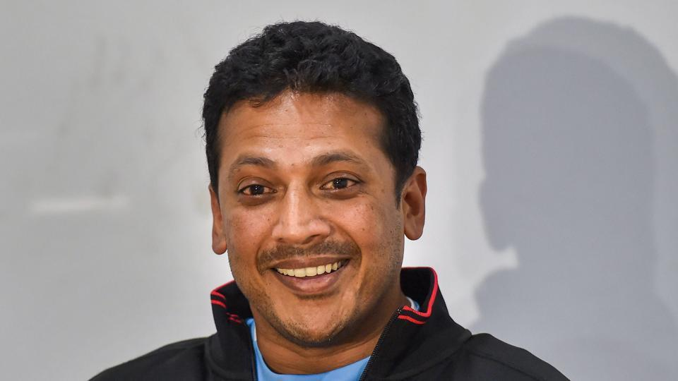 Davis Cup non-playing captain Mahesh Bhupathi interacts with the media ahead of India vs Italy World Group qualifier in Kolkata.