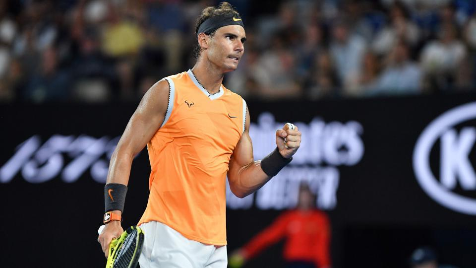 Australian Open 2019 Rafael Nadal Lines Up Tsitsipas As Kvitova