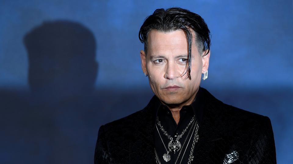 Actor Johnny Depp attends the British premiere of Fantastic Beasts: The Crimes of Grindelwald movie in London.
