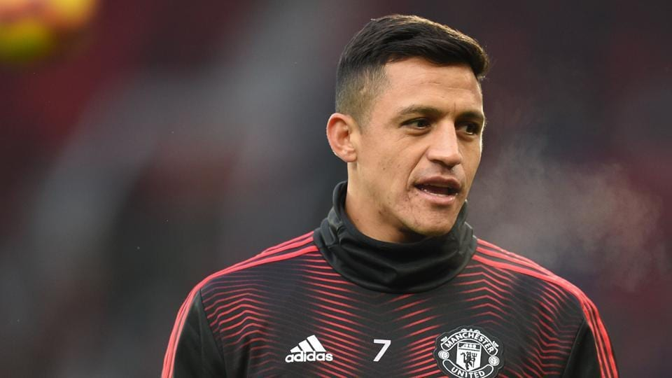 File image of Manchester United footballer Alexis Sanchez