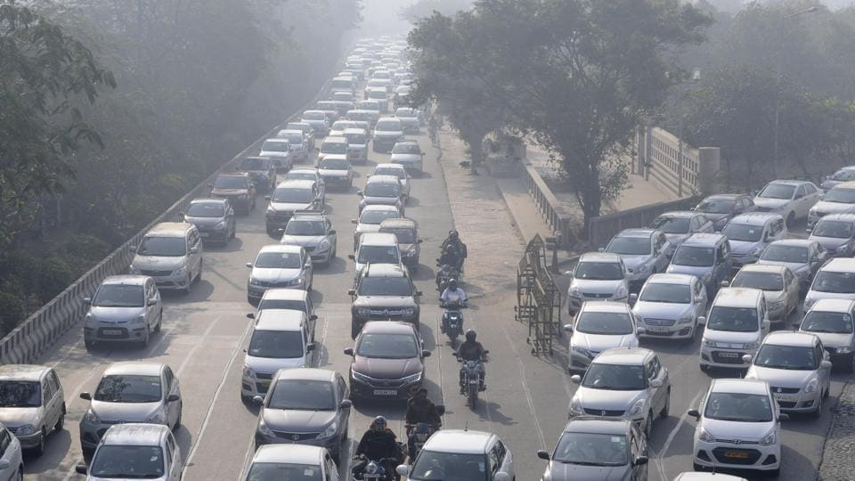 File photo of traffic congestion on Delhi-Noida Link road.