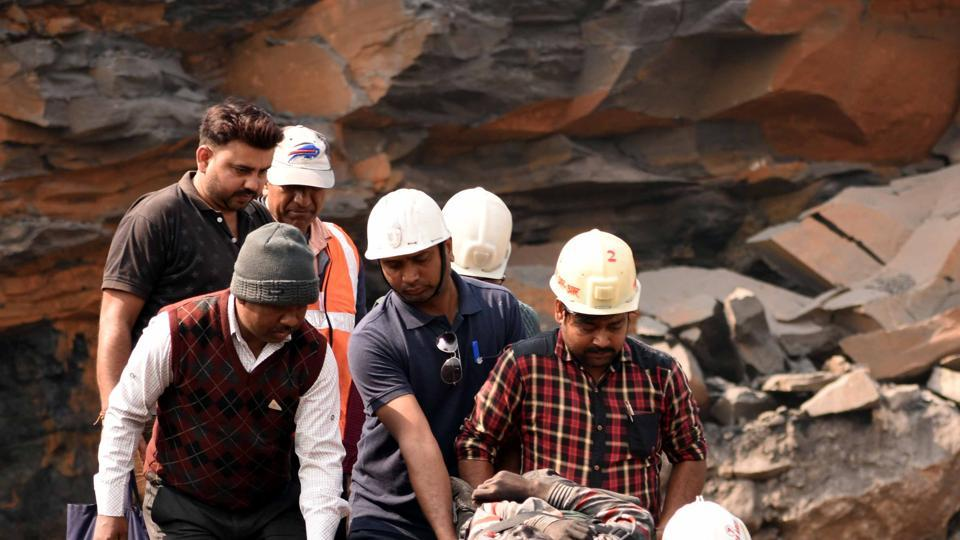 illegal mining in dhanbad,illegal mining,roof collapse