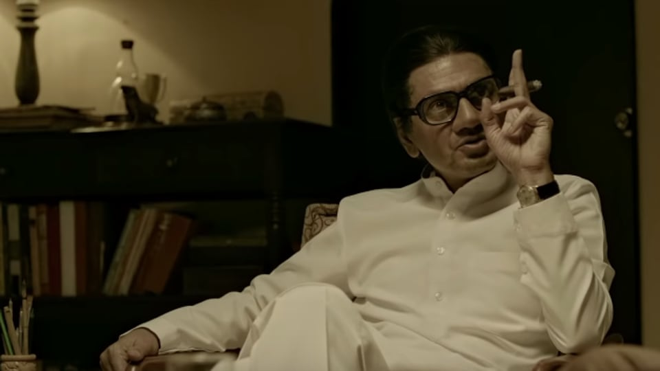 Thackeray movie review: Nawazuddin Siddiqui plays Thackeray like one of his gangsters.