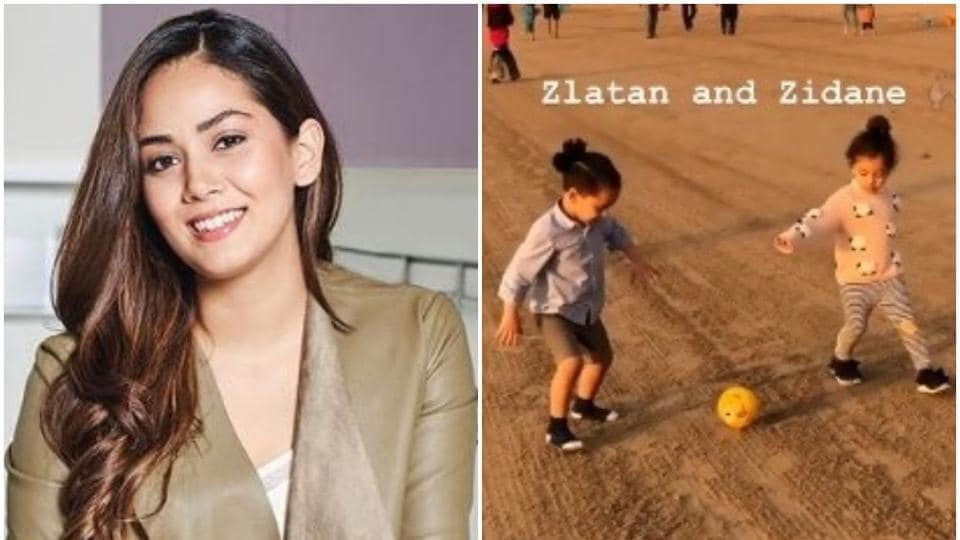 Mira Rajput's Instagram stories are full of pictures of her daughter Misha.