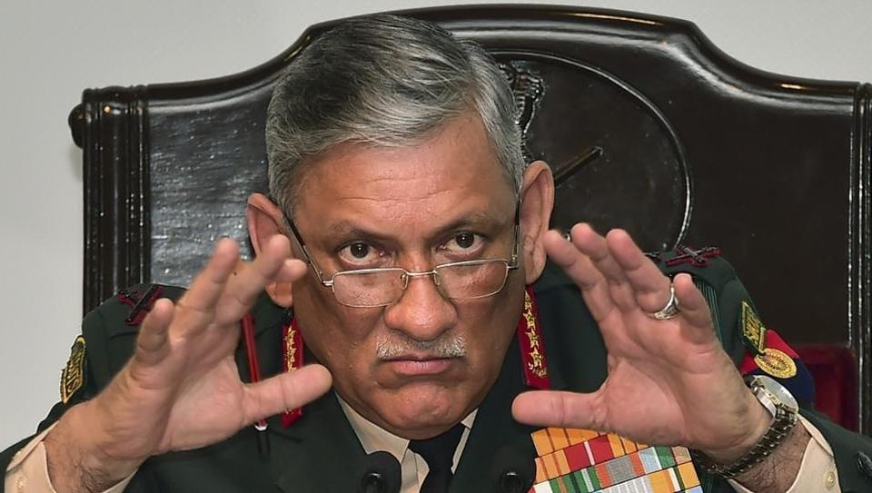 pakistan,indo-pak relations,army chief bipin rawat