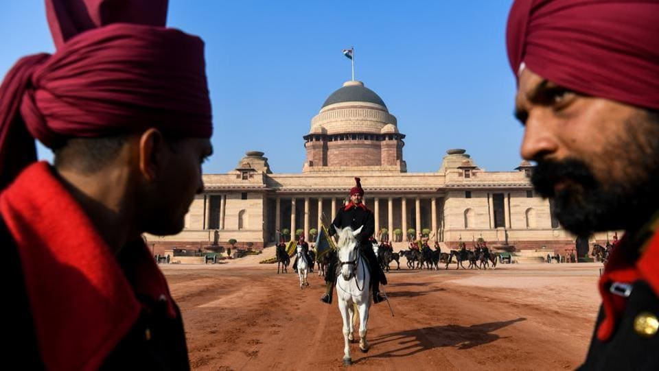 They are the most elite regiment in the Indian Army, handpicked by height and heritage from a pool of thousands and bedecked in the finest regalia befitting their status. The President's Bodyguard, a 200-strong cavalry unit, have for centuries been assigned to India's uppermost VIPs, from British viceroys to modern-day heads of state. (Chandan Khanna / AFP)