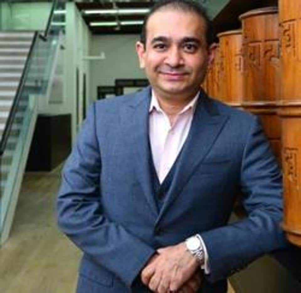 Nirav Modi and Choksi are being probed in a money laundering case and the two are among the accused in the over-₹13,000-crore PNB scam.