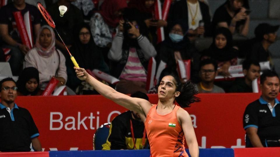 Saina Nehwal,He Bingjiao,Indonesia Masters