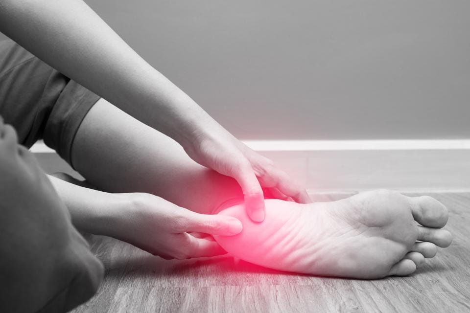 The pain of Plantar fascilitis can be worse in the morning or when standing for too long.