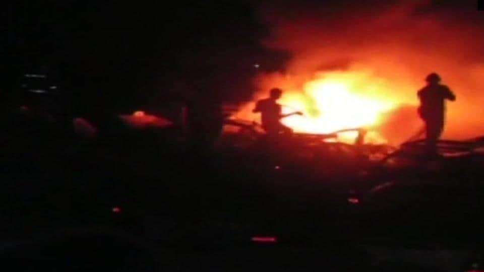 fire,India news,Mumbai fire