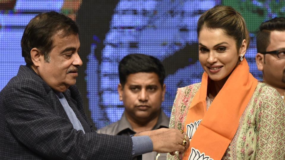 Isha Koppikar,BJP,Bollywood