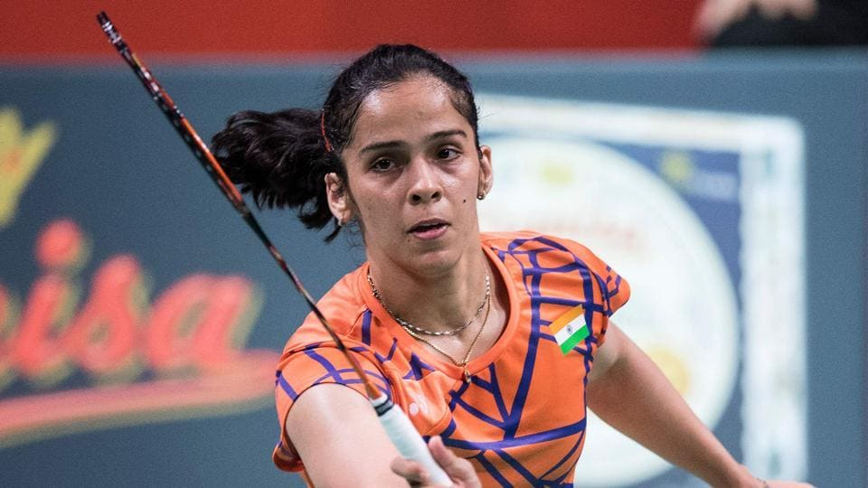 File image of Indian shuttler Saina Nehwal.