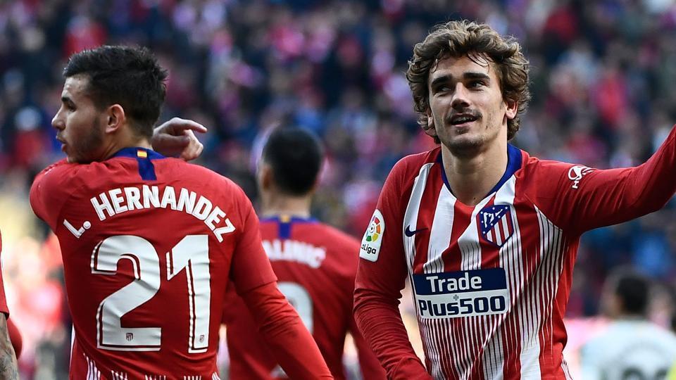 La Liga,Griezmann,Atletico Madrid