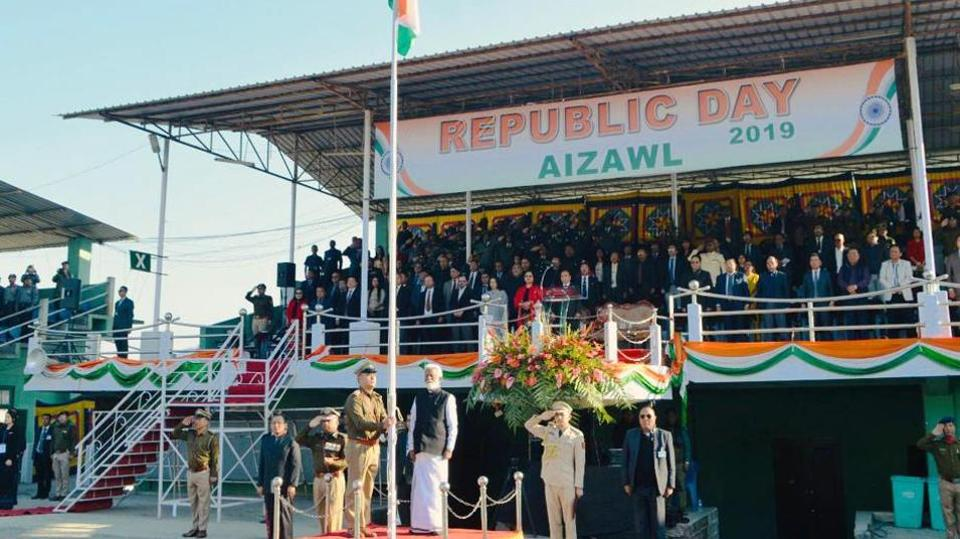 Republic day,Republic day in Mizoram,IAS officers not allowed to attend Republic Day