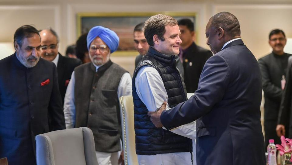 South Africa,Rahul Gandhi,Cyril Ramaphosa
