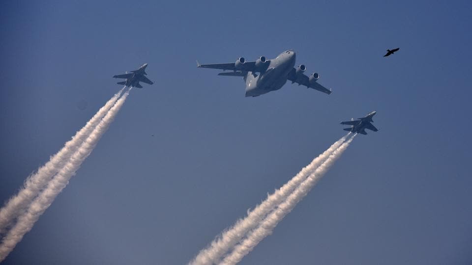 Indian Air Force,Indian Air Force plane,Republic Day