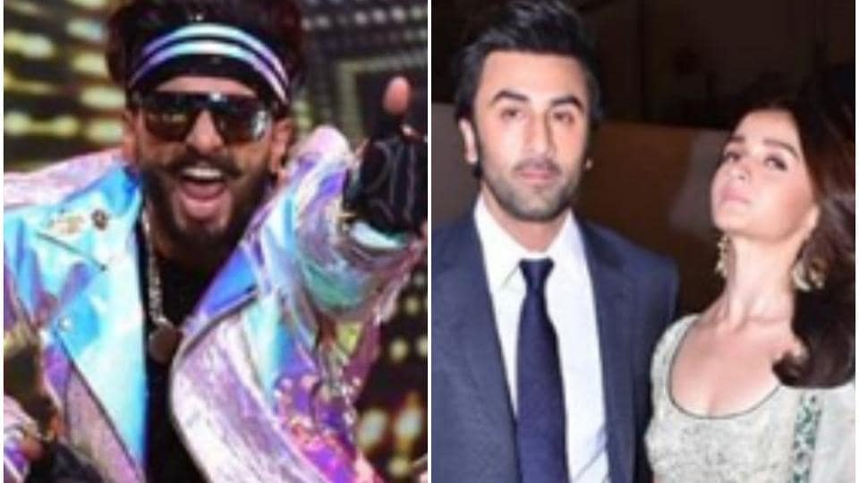 Ranveer Singh, Ranbir Kapoor and Alia Bhatt, along with many other Bollywood stars, put on a show in honour of Mumbai Police.