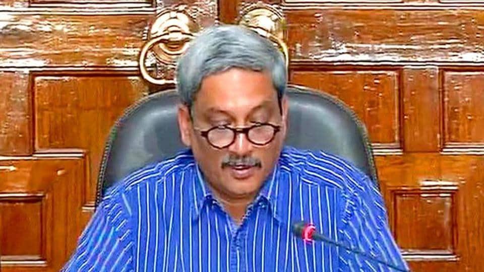 Manohar Parrikar,URI remark,congress