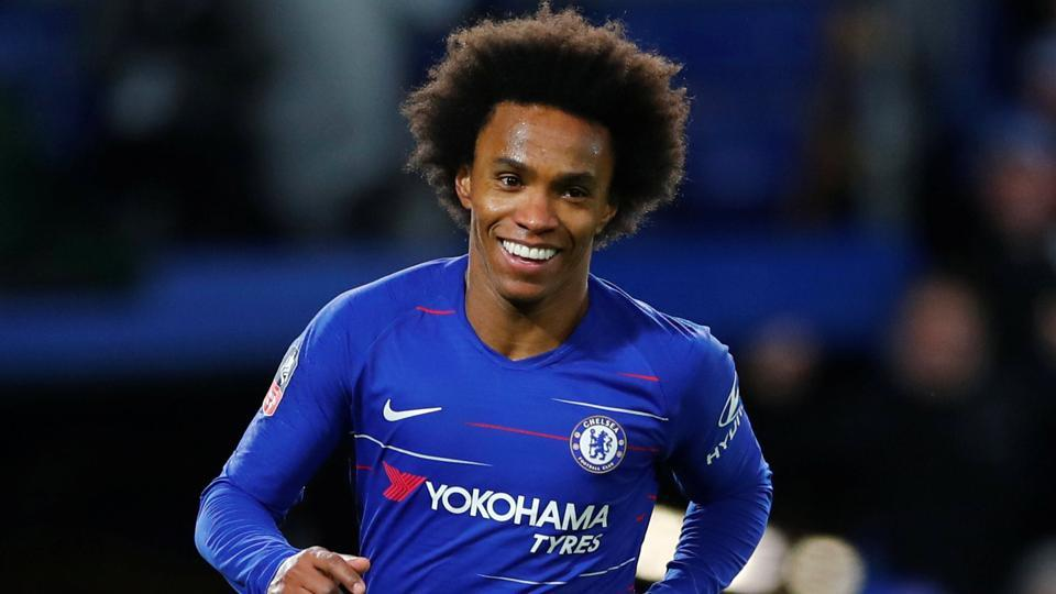 FA Cup: Willian double helps Chelsea to a win over Sheffield on Higuain debut | football