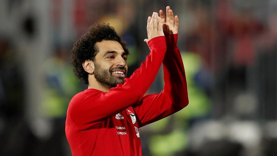 Mohamed Salah will lead Egypt at the African Nations Cup.