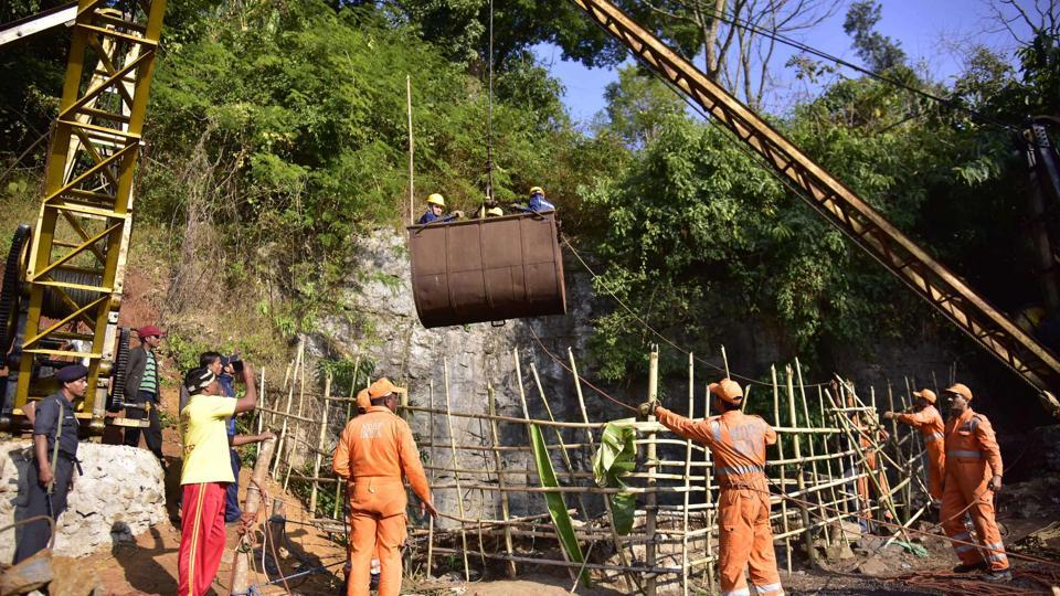 A bench headed by Justice AK Sikri asked the governments to keep looking for the miners, days after Indian navy's divers detected the body of a second miner.