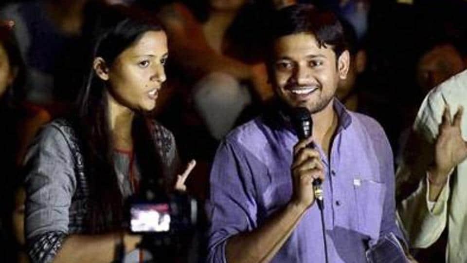 "Kanhaiya Kumar and Shehla Rashid were scheduled to be panelists at the ""Remembering Mahatma Gandhi on 72nd Martyrdom Anniversary"" in New Delhi on Monday."