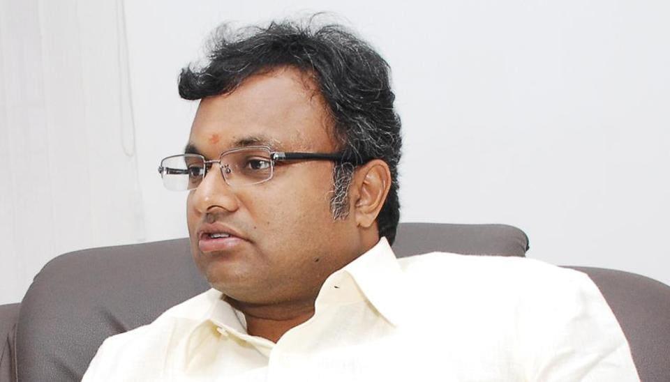 KArti Chdambaram,P Chidambaram,INX media