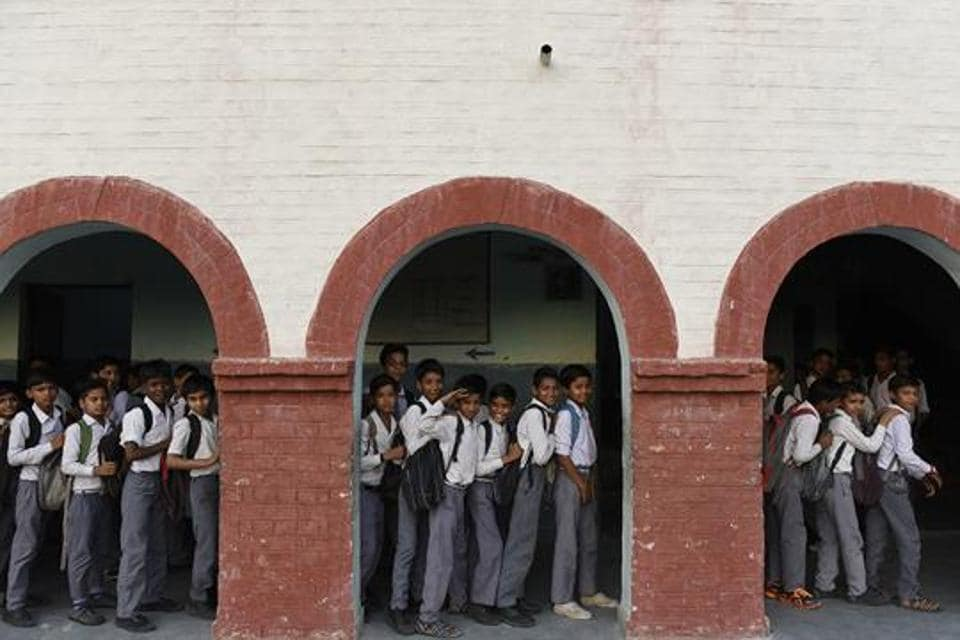 The walls in the classrooms and verandas had red stains caused by betel spitting, some toilets at the school had no doors, no books were issued from the library since September last year, the report said.