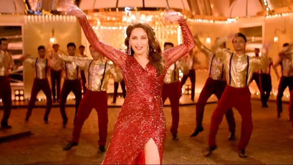 Madhuri Dixit in the Total Dhamaal song Paisa Yeh Paisa.