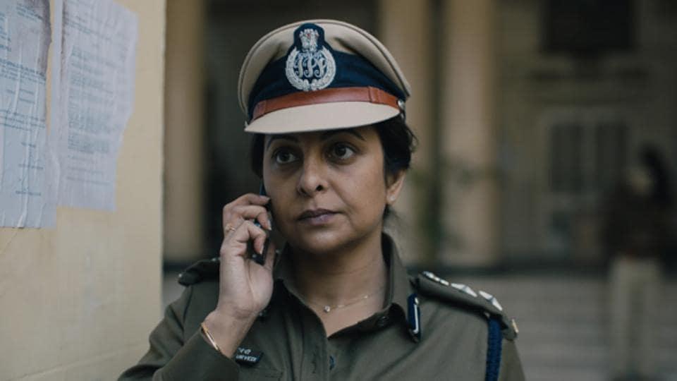 Shefali Shah plays police officer Vartika Chaturvedi in Delhi Crime.