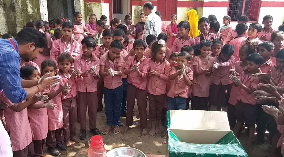 soap bank,UNICEF