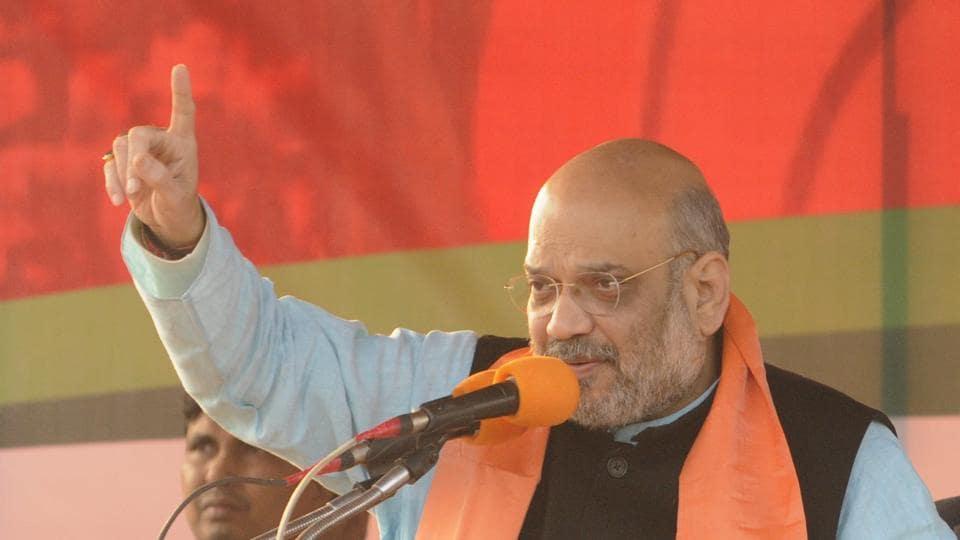 BJP rally,Bengal,Amit Shah
