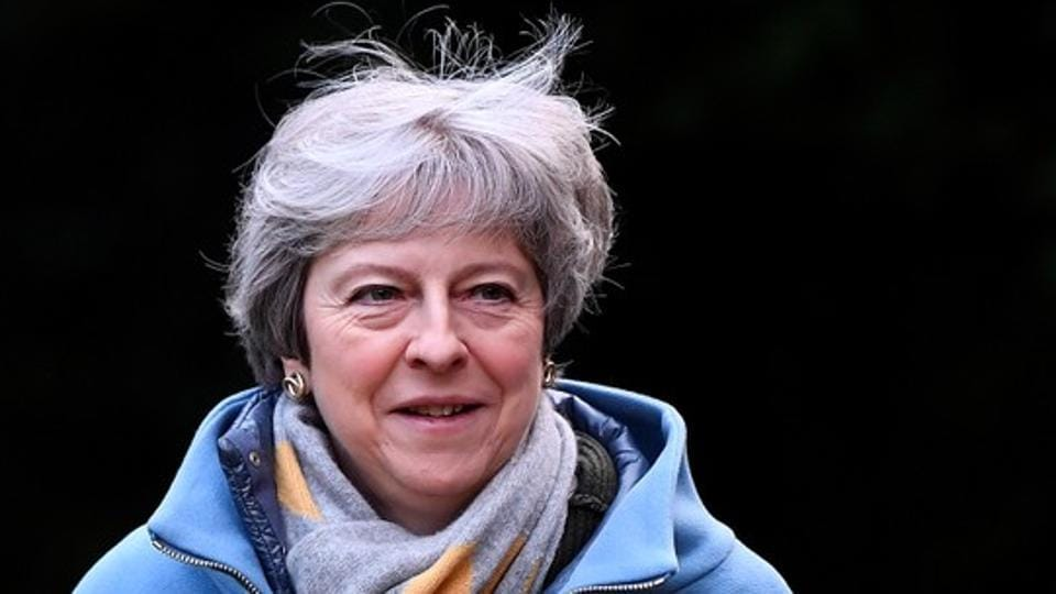 May insists her agreement can still win Parliament's backing, if it is tweaked to alleviate concerns  on the Irish border concern.