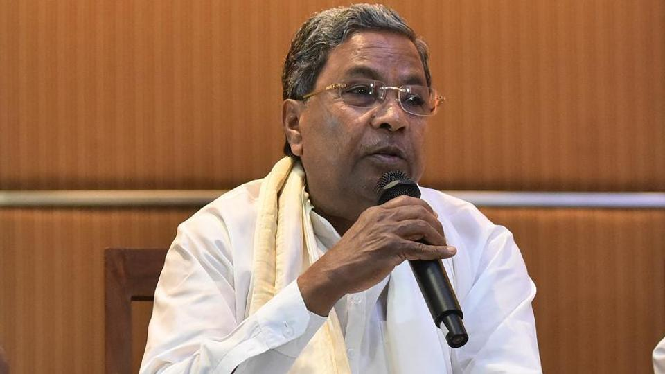 """Union minister of state Mahesh Sharma slammed former Karnataka chief minister Siddaramaiah for allegedly misbehaving with a woman, and said the behaviour of the Congress leader shows the """"double standard"""" of the party."""