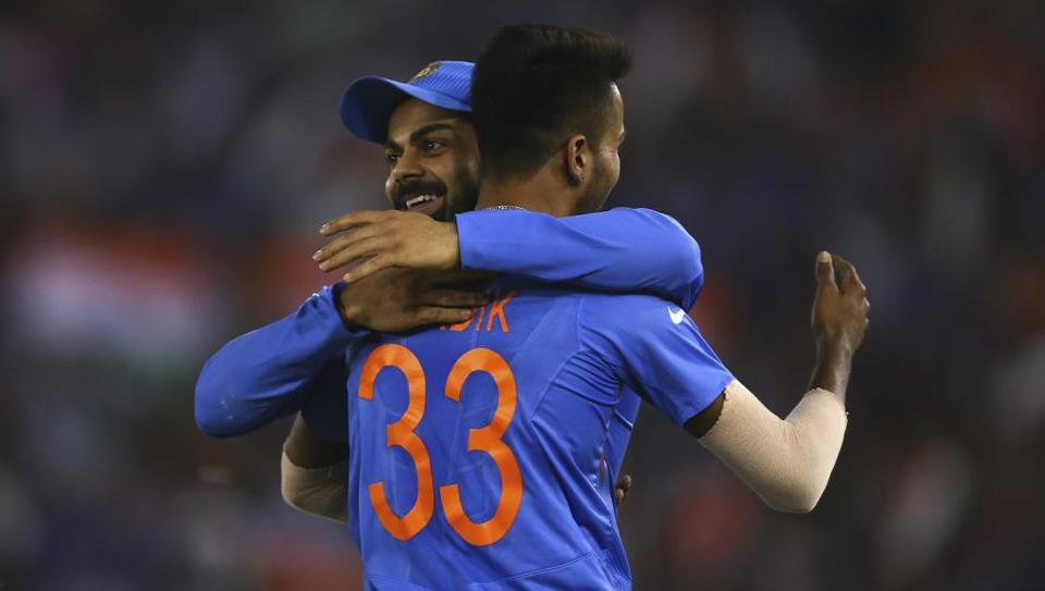 India vs New Zealand,Hardik Pandya,Virat Kohli