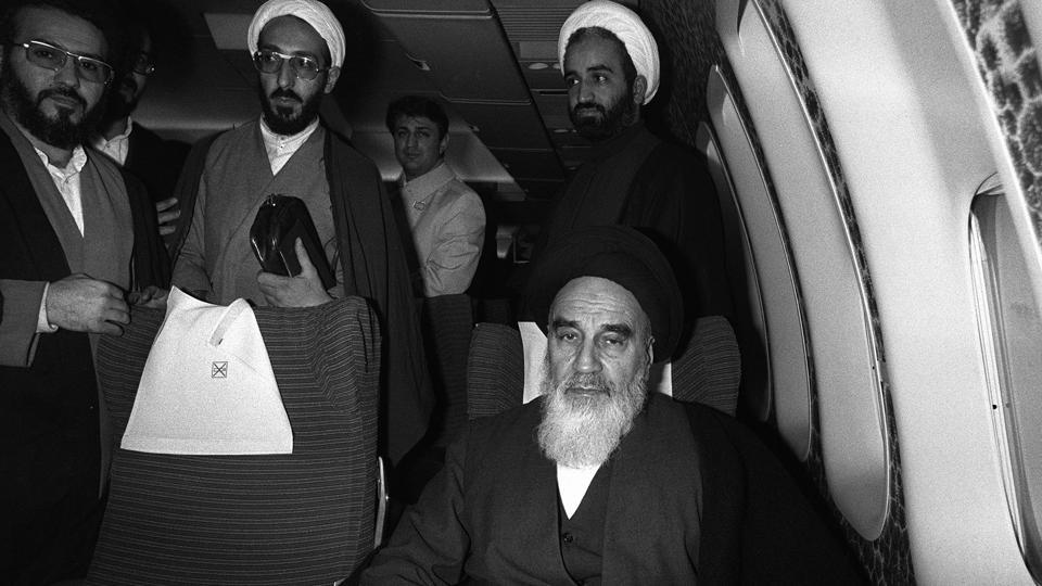 Ayatollah Ruhollah Khomeini,14 years in exile,Islamic revolution
