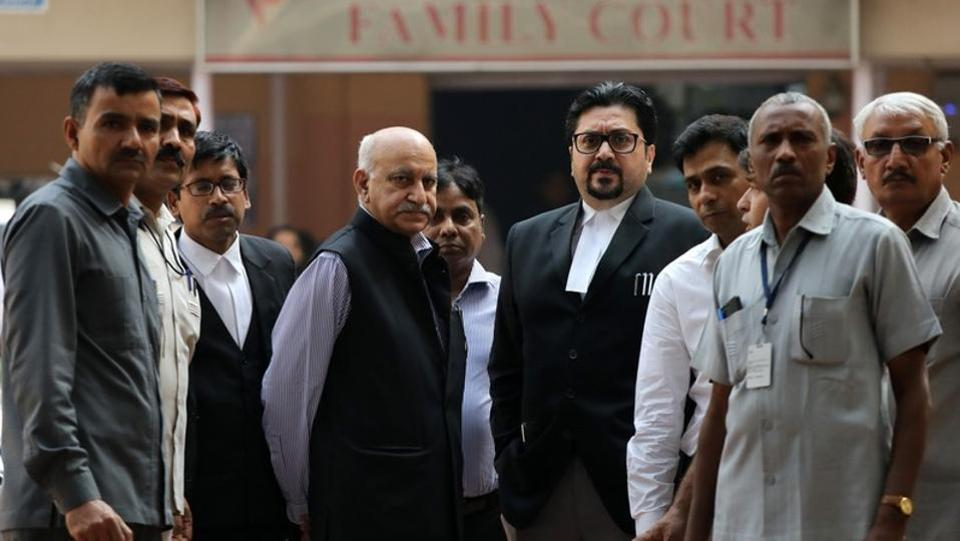 Today, a Delhi court summoned journalist Priya Ramani to appear on February 25 in a defamation case filed against her by former Union minister M J Akbar on her allegations of sexual misconduct against him. Additional Chief Metropolitan Magistrate Samar Vishal issued the direction on Akbar's plea, reported PTI. (Anushree Fadnavis / REUTERS File)