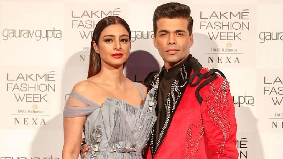 Karan Johar,Tabu,Lakme Fashion Week