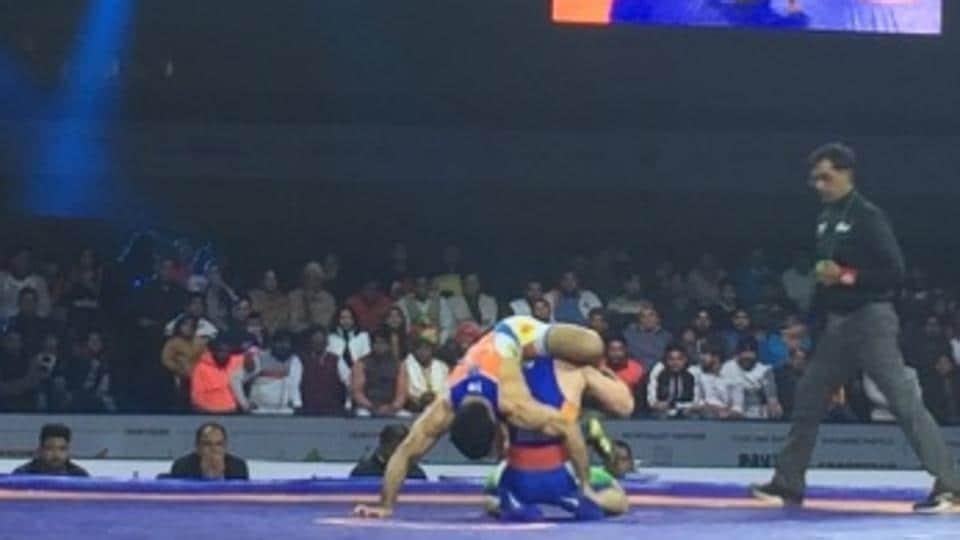 Pro Wrestling League,Haryana Hammers,Delhi Sultans
