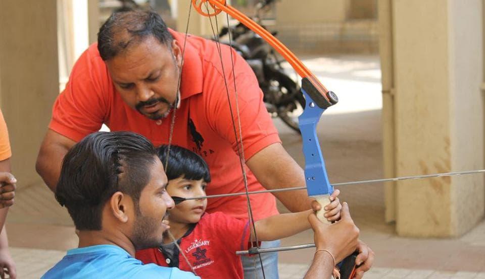 Pune,archery,Iron Target