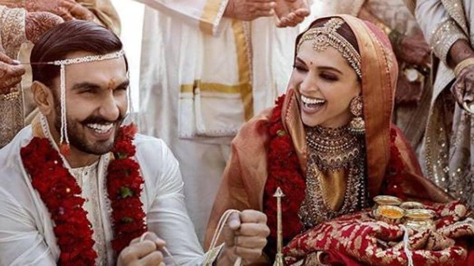 Ranveer Singh and Deepika Padukone got married on November 14 and 15 at Lake Como.