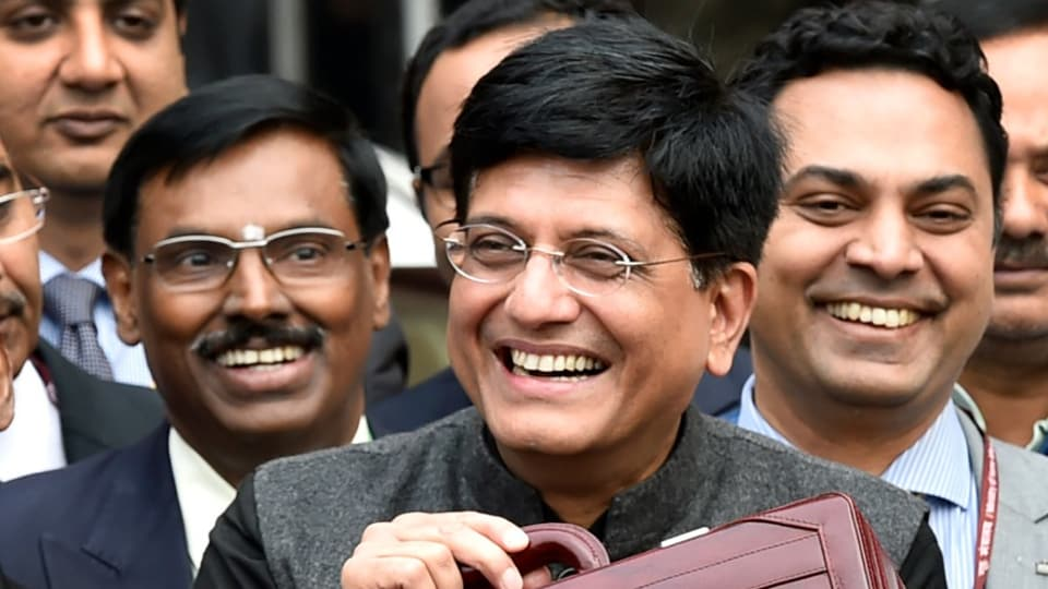 Piyush Goyal is expected to present an interim budget instead of a regular one, which will be presented by the new government that comes in after the parliamentary polls.