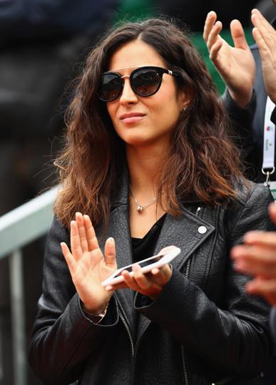 MONTE-CARLO, MONACO - APRIL 23: Xisca Perello girlfriend of Rafael Nadal of Spain watches as he receives his winners trophy after his straight set victory against Albert Ramos-Vinolas of Spain in the final on day eight of the Monte Carlo Rolex Masters at Monte-Carlo Sporting Club on April 23, 2017 in Monte-Carlo, Monaco. (Photo by Clive Brunskill/Getty Images) (Getty Images)