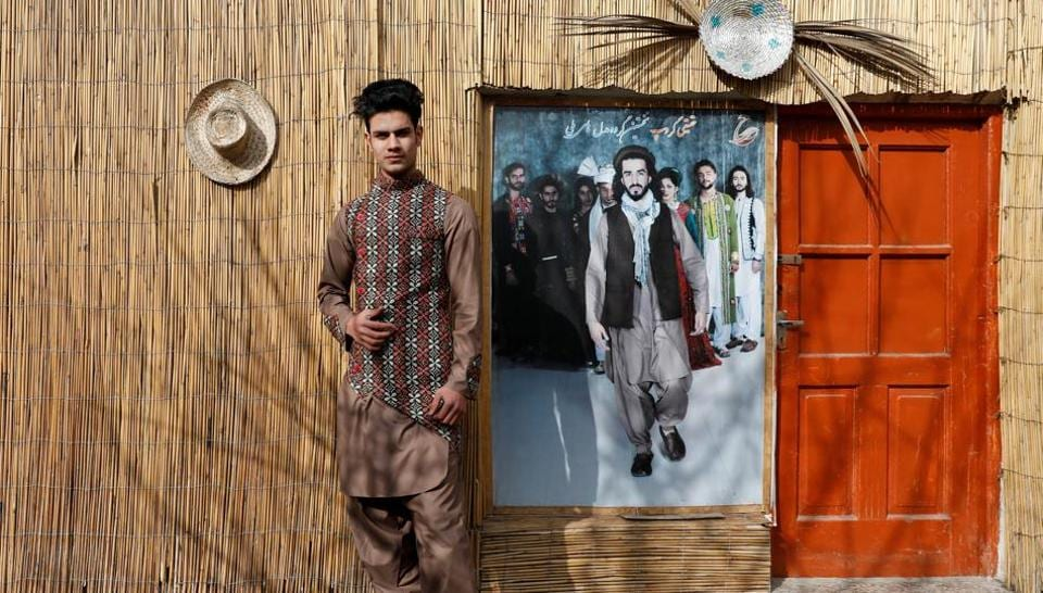 "Model Sultan Qasim Sayeedi, 18, in Kabul. Sayeedi scours Facebook, YouTube and Instagram to learn about fashion and modelling and draws inspiration from his favourite models. ""We're afraid that if the Taliban come then we will not be able to hold our shows,"" he said. Despite that wariness, Sultan says it's time the fighting ended. (Mohammad Ismail / REUTERS)"