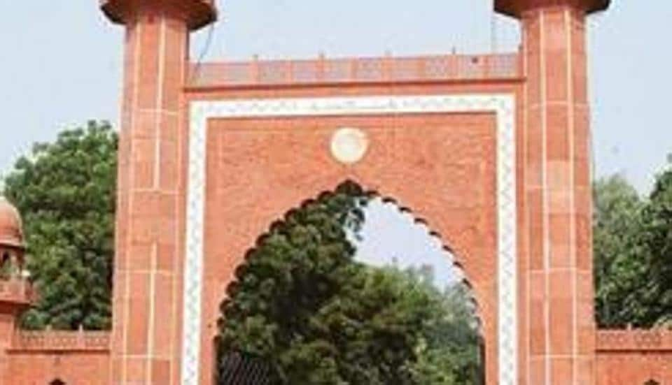 Mayor of Agra calls Aligarh Muslim University a hub for terrorists. Photo by D K Sharma/HT HTnwes 20Pubnov2007