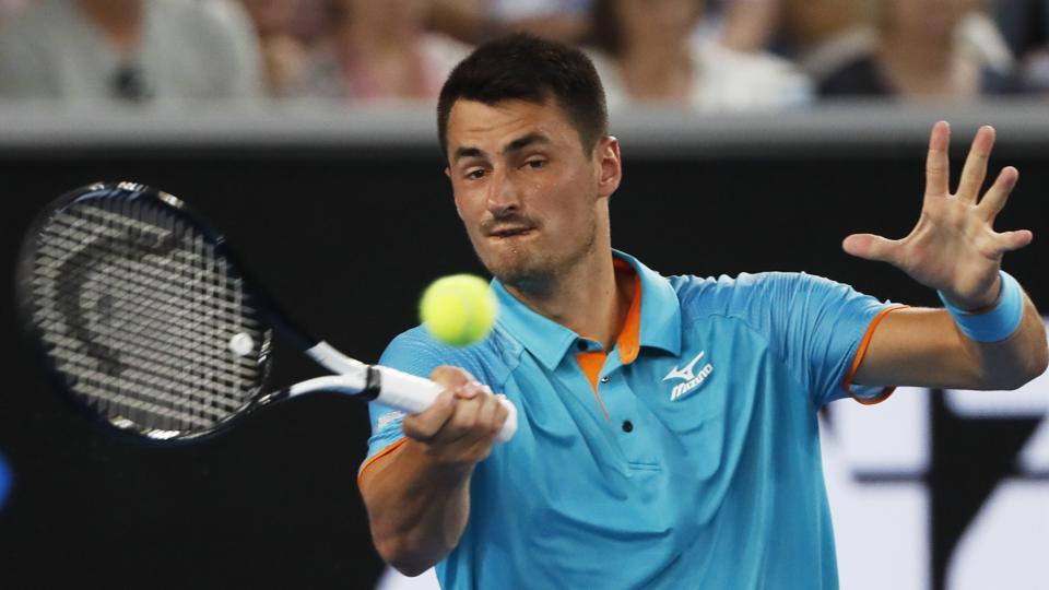 File image of Bernard Tomic.