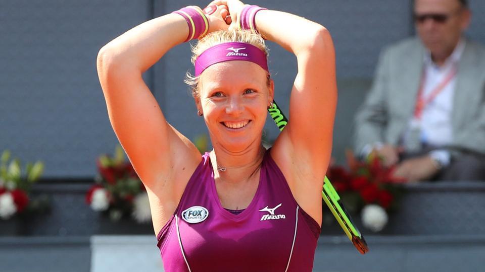 File image of Dutch tennis player Kiki Bertens